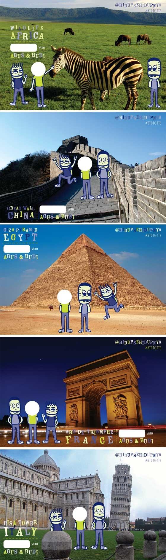 Mari Kirim-Kiriman Kartu Pos! : http://malesbanget.com/2012/04/mari-kirim-kiriman-kartu-pos/