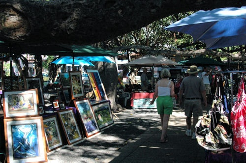 Lahaina Banyan Tree Craft Fair