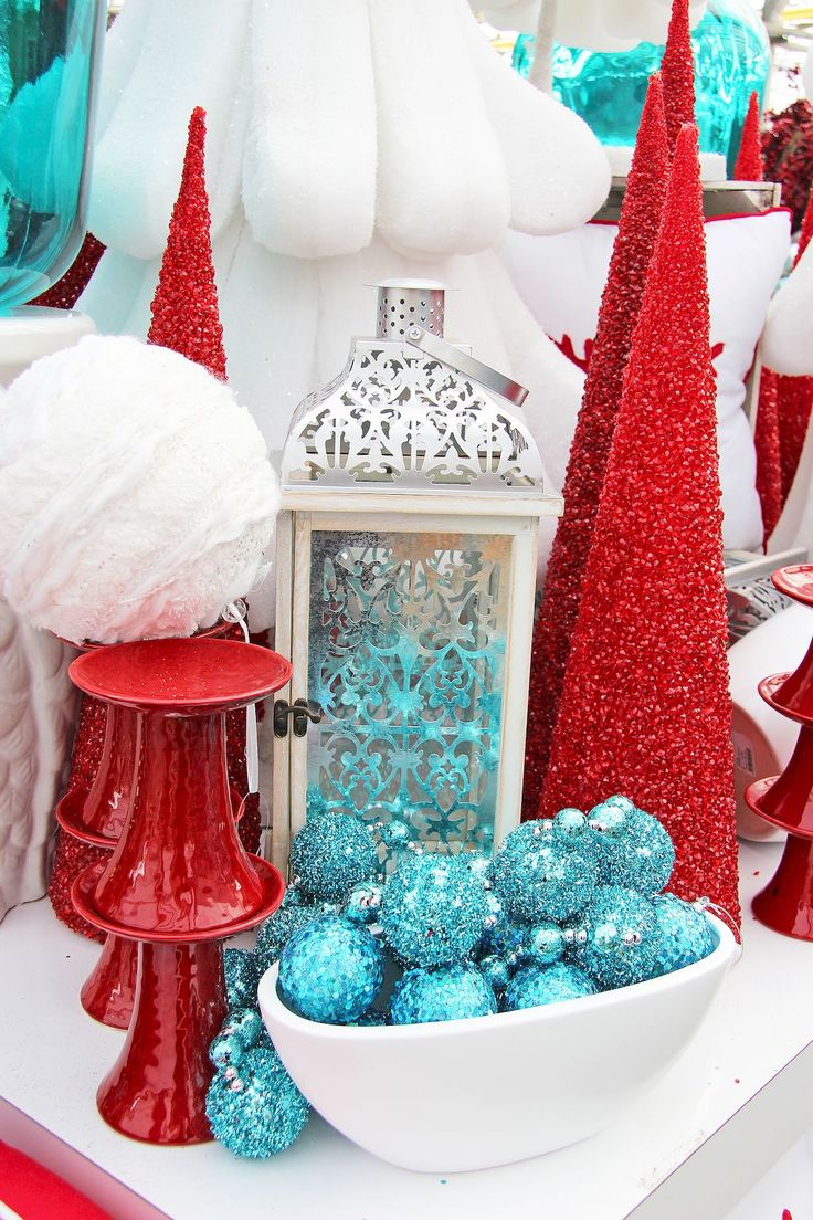 Best Teal Amp Red Christmas Images Pinterest Turquoise Time And
