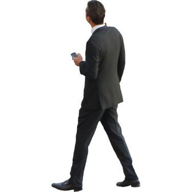 man in a fancy suit, from immediate entourage.