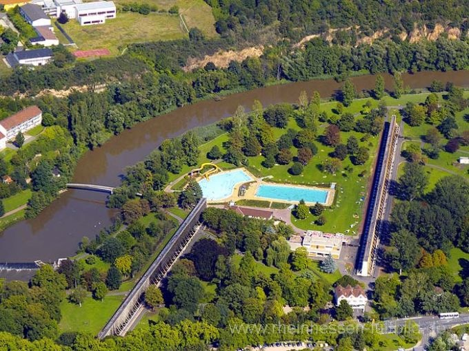 As a kid, I used to hit up this Schwimmbad like it was my J-O-B. Bad Kreuznach, Germany.