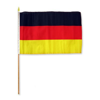 FlagsImporter Germany Traditional Flag and Flagpole Set