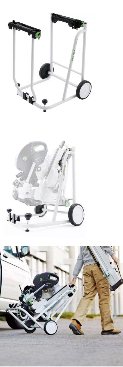 Jigs and Templates 179686: Festool 497351 Ug-Kapex Collapsable Wheeled Stand - Kapex Ug -> BUY IT NOW ONLY: $370 on eBay!