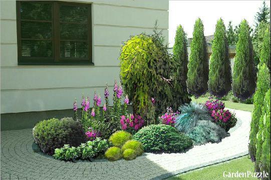 ogród przed domem - Szukaj w Google
