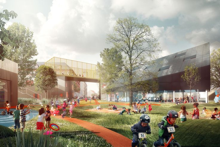 Prinsessegade Kindergarten and Youth Club Winning Proposal / COBE, NORD Architects, PK3 and Grontmij