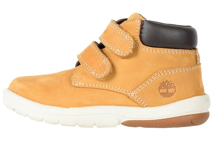 Timberland Kids Tracks HL Boot (Toddler/Little Kid) Kids Shoes Wheat Nubuck