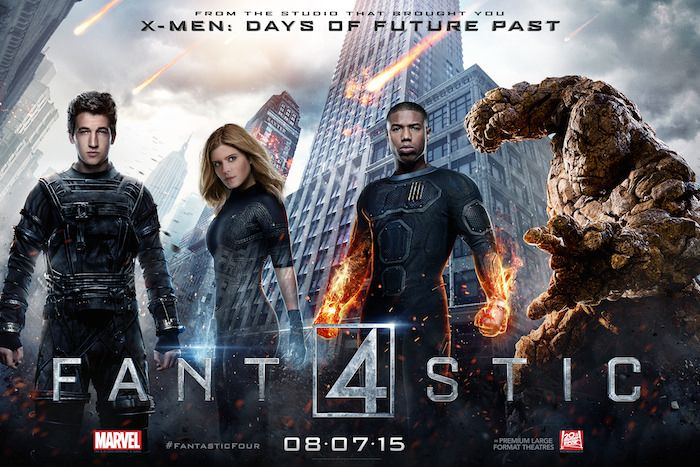 The World Ends in New Fantastic Four Character Posters