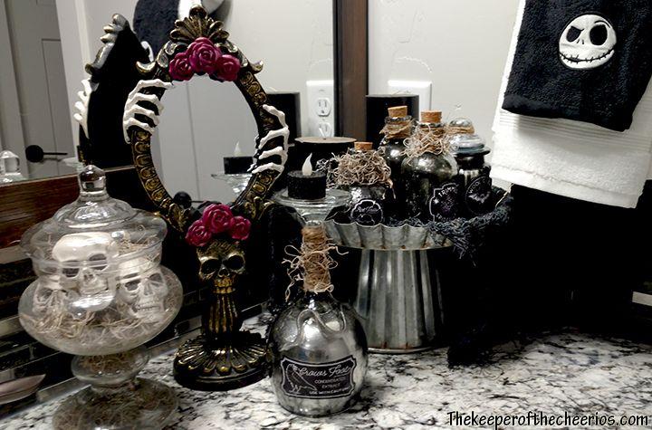 Nightmare Before Christmas Bathroom With Images Halloween
