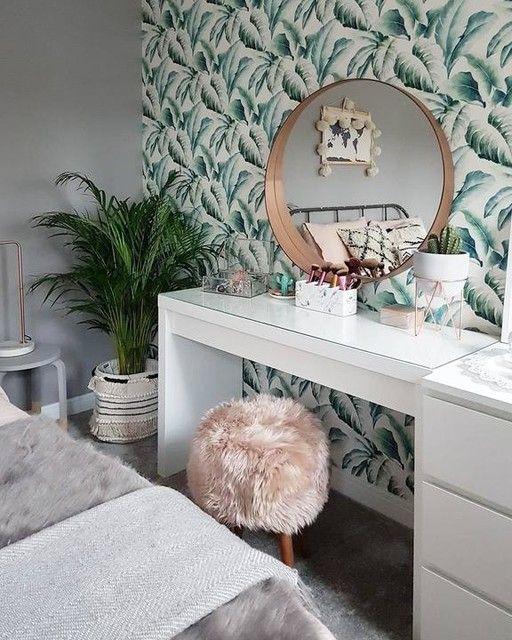 Malm Dressing Table White Ikea In 2019 Home Inspo Room Decor