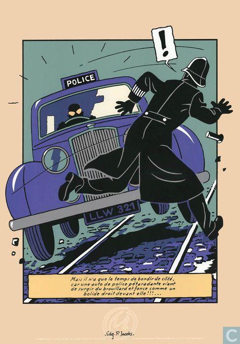 Ex-Libris BD et tirages - Tiré à part - Police