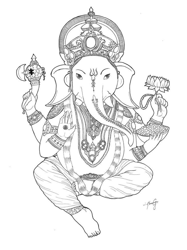 Ganesha by ~CharlieFields on deviantART