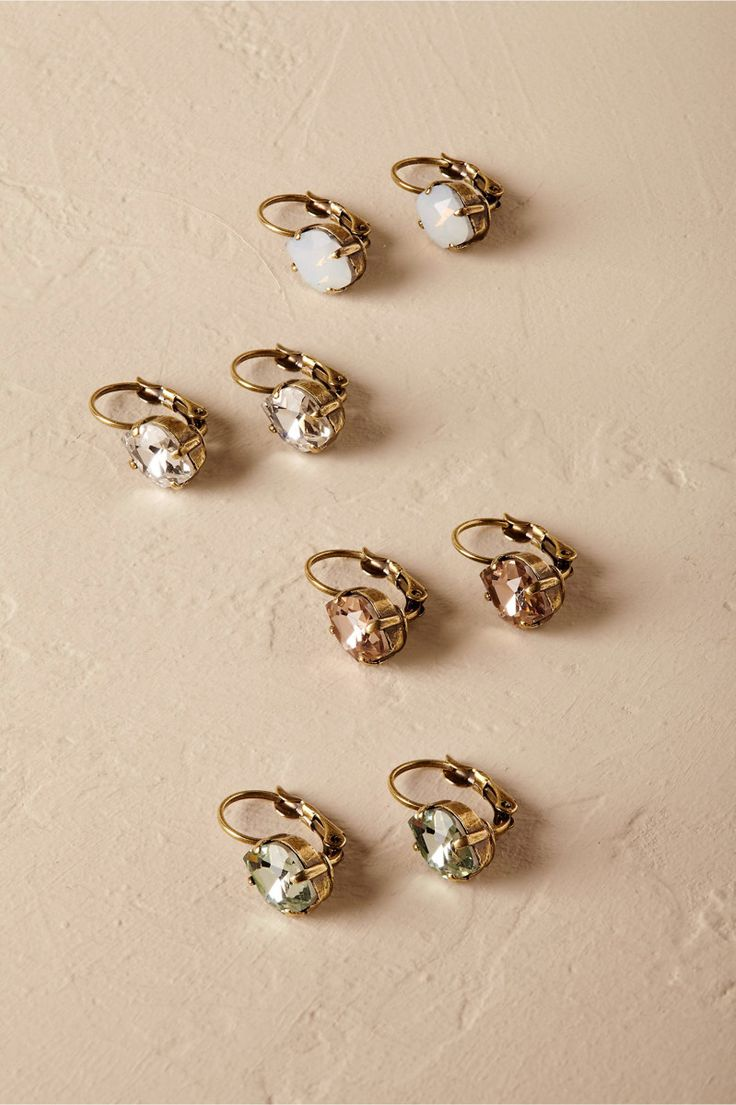 Earrings // Anthropologie, $40