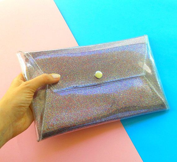 rainbow glitter clutch handbag sparkle purse glitter envelope