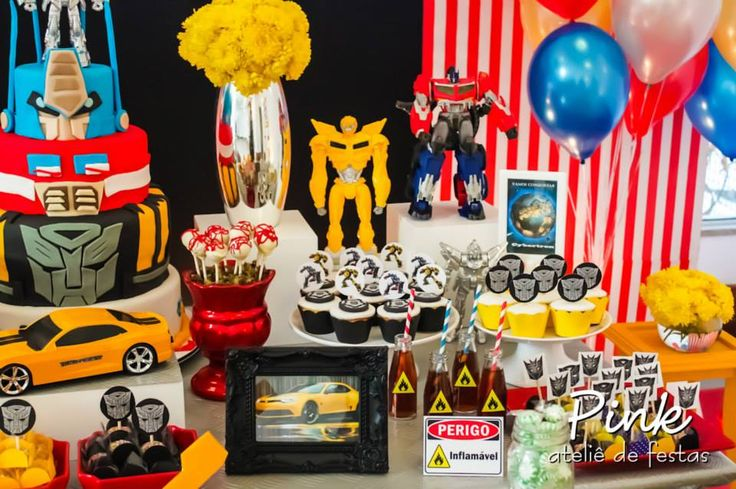 Ideia Festa Infantil – Transformers