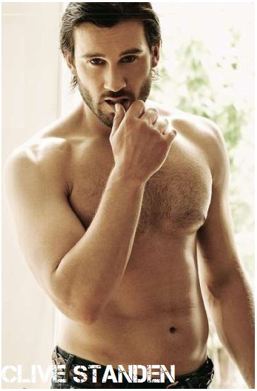 "Okay have no idea who he is but enough said....Clive Standen - soon to be seen on The History Channel's ""Vikings"".. and seen very well!"