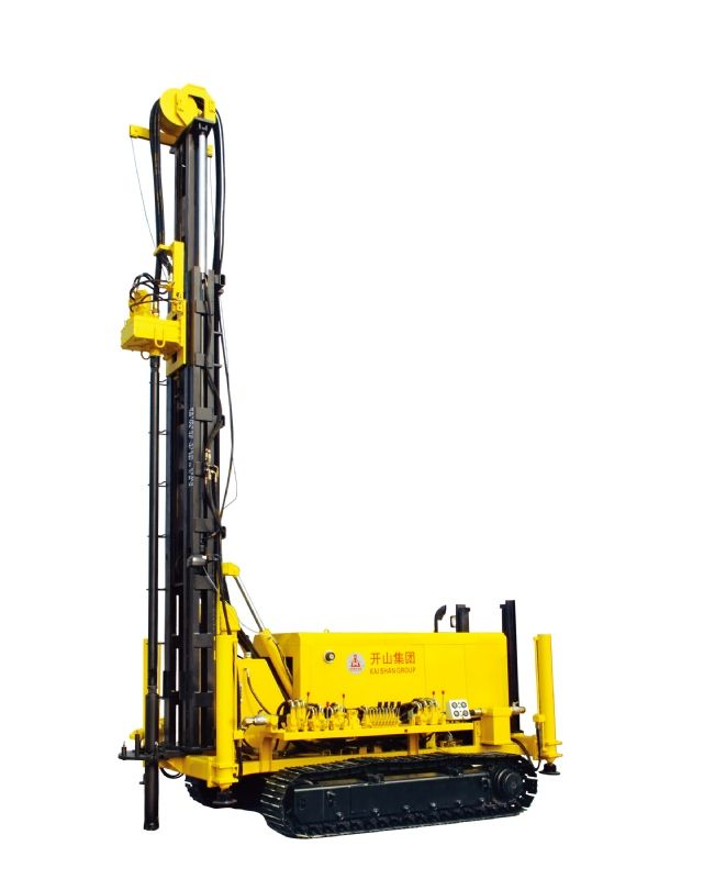 KW20 water well rig drilling machine portable  1.Drill hole diameter:115mm-254mm  2.Drill depth:200m deep  3.Geothermal water drill