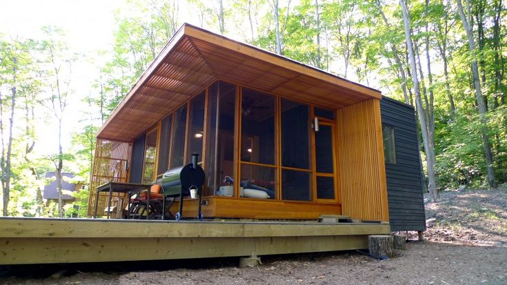 25 best ideas about prefab cottages on pinterest for Prefab lake homes