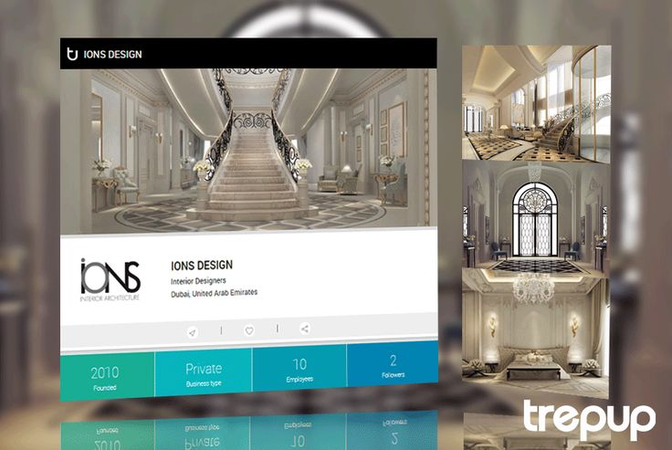 Luxury is about design. Check out IONS DESIGN for luxurious interiors, on Trepup.  http://bit.ly/245wF5l