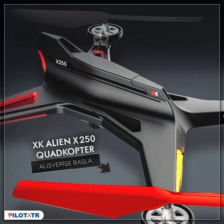 XK Alien X250 2.4G 4-Kanal Quadkopter https://www.pilottr.com/urun/wltoys-xk-alien-x250-quadkopter.html  #pilottr #wltoys #alien #xk #x250 #quadkopter #modelhobi #hobi #hobby #modeluçak #rcuçak #drone #multicopter #multikopter #hexacopter #hexakopter #ufo #modelheli #modelhelicopter #modelhelikopter #helikit