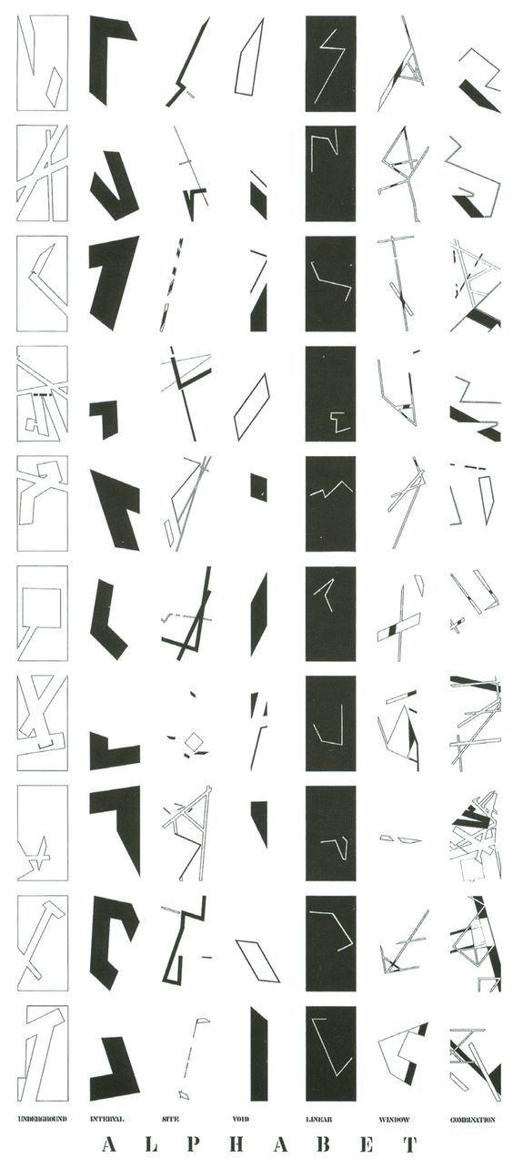 Daniel Libeskind | unterirdische interne Website entfällt lineare Fensterkoordination | Dataviz
