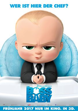 Filme 2017 - Boss Baby - Fox Kino - kulturmaterial - German Poster