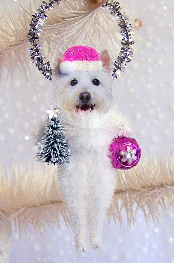 Ok TREE PETS has to be one of the coolest holiday things I've seen... by TreePets on Etsy and just $12.00 !