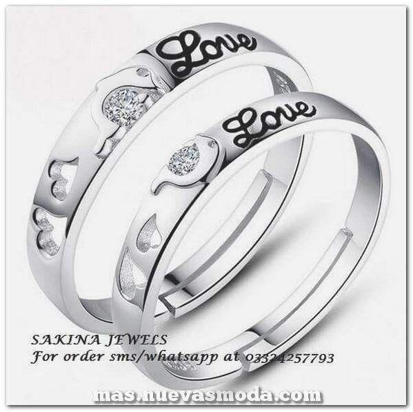 El magnífico anillo de bodas de 64 le permite a él y a ella ser incluso mejores que el solitario …   – Boda