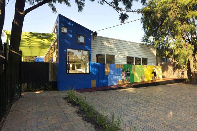 Необычный детский сад в Австралии