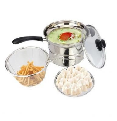 VAVINCI MULTI POT STEAMER AND FRYER