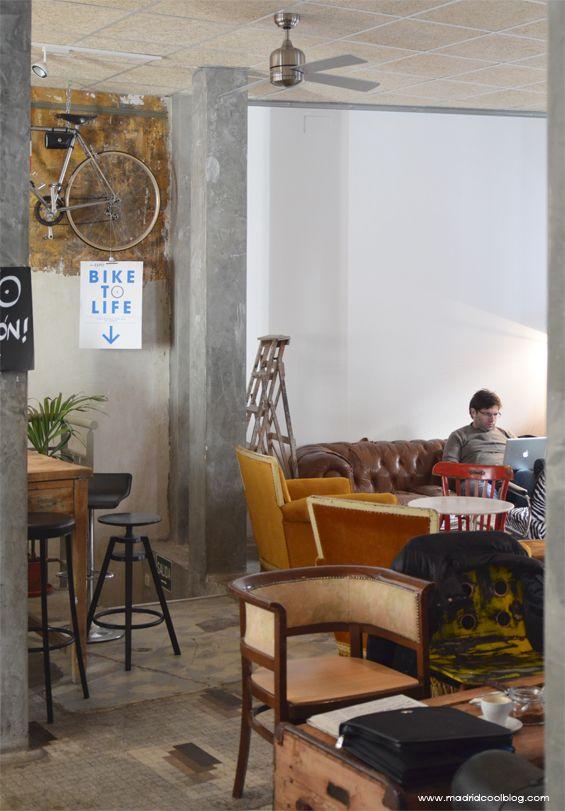 La Bicicleta Café & Workplace Madrid by madridcoolblog.com