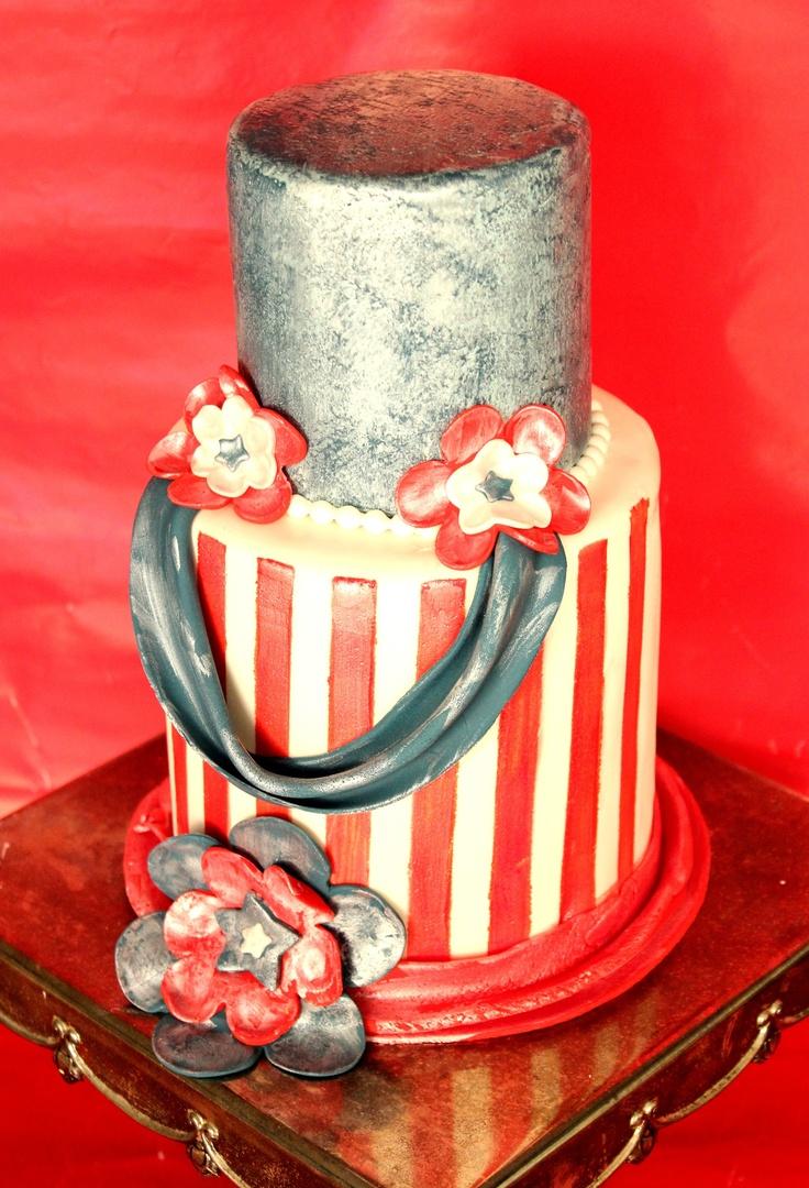 My Americana cake!