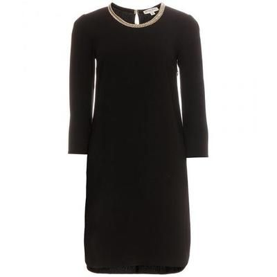 Burberry London - Lilly embellished crepe dress #dress #burberry #women #covetme #burberrylondon