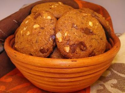 Шоколадно - кофейное печенье от Пьра Эрме : Выпечка сладкая
