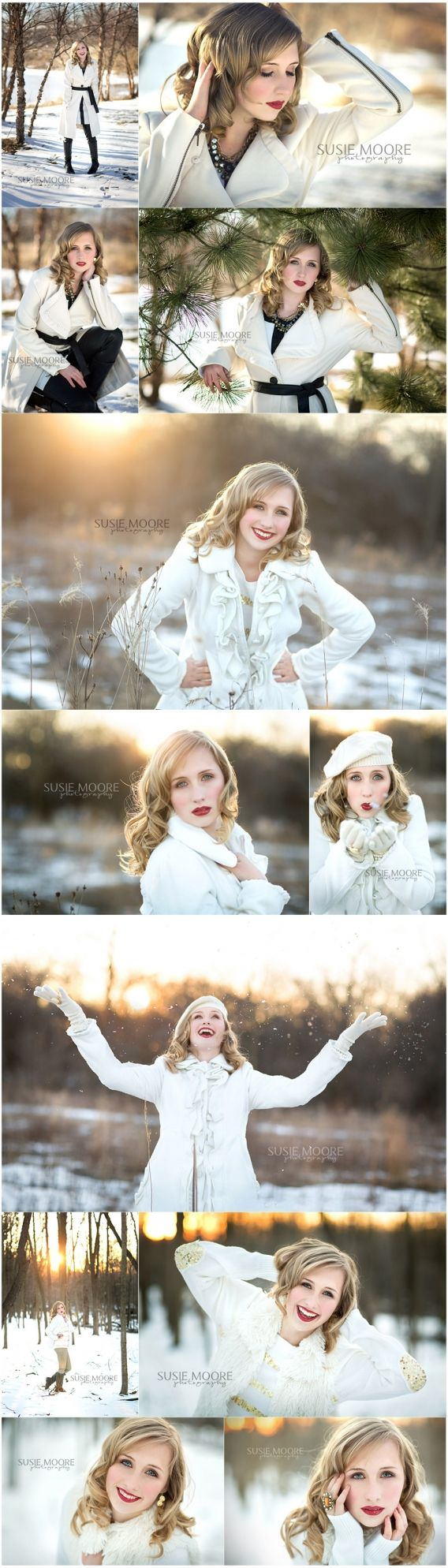 best Nicole senior photos in the snow ideas images on Pinterest