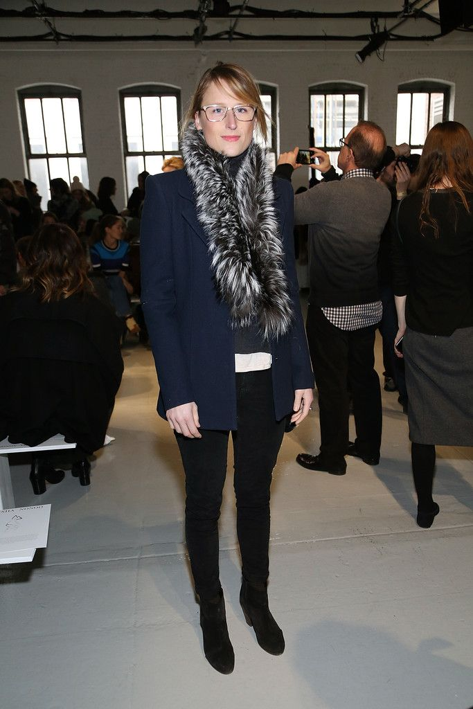 Mamie Gummer Photos:Mamie Gummer - Mamie Gummer attends the Misha Nonoo fashion show during Mercedes-Benz Fashion Week Fall 2015 at Center 548 on February 14, 2015 in New York City.