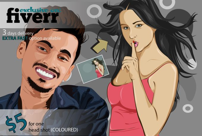 convert image to vector or redraw your image by designz_edge