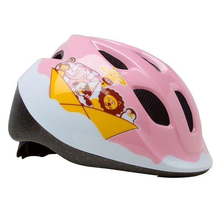 12,99€ - VELO Equipement du cycliste - CASQUE VELO BEBE 300 ROSE - B'TWIN
