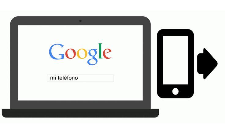 Localiza tu teléfono extraviado en el buscador de Google. El gigante de los buscadores, Google mejora el sistema de localización de los teléfonos extraviados; solo con ingresar las palabras clave en el buscador, la aplicación dice dónde se encuentra un smartphone e incluso permite hacerlo sonar.