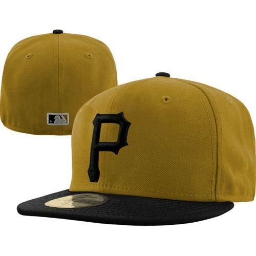 Pittsburgh Pirates New Era MLB Alternate 59Fifty Hat (Yellow)