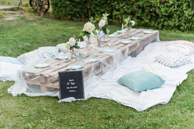 Fröhliche DIY Bridal Party von Marie Bleyer | Hochzeitsblog - The Little Wedding Corner