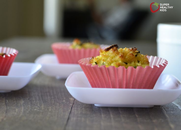 Baked Zucchini Bites | Healthy Ideas for Kids