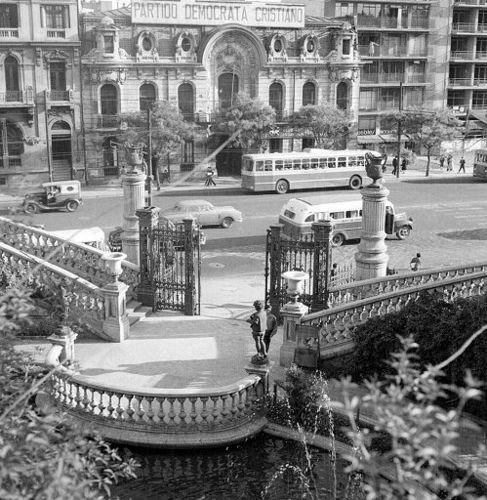 la sede del partido democracia cristiana en 1964