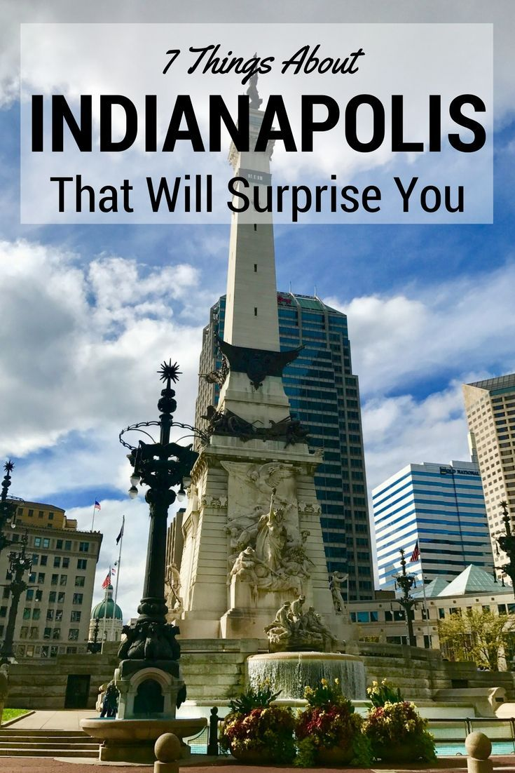 Indianapolis is a Midwestern gem that is often overlooked. With a flourishing dining scene, national events, and awesome nightlife, it's time to give this city a second look. - Travelocity National Gnomad Kirsten Maxwell