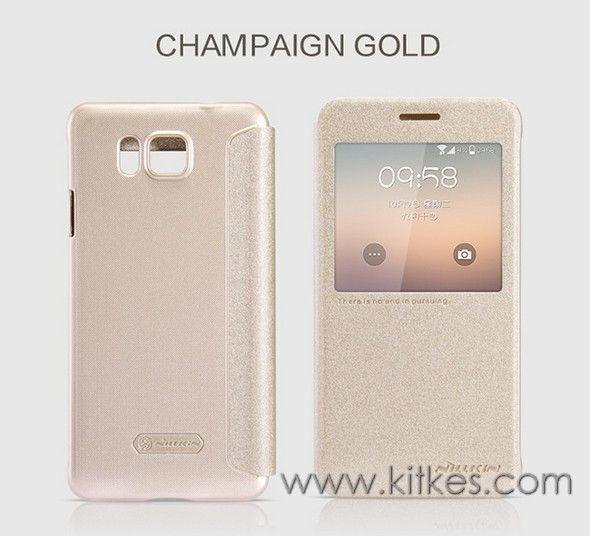 Nillkin Sparkle Leather Case Samsung Galaxy Alpha - Rp 135.000