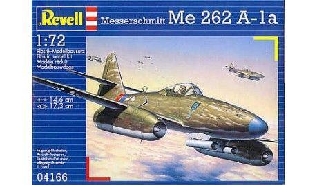 Revell - 4166 - Maquette d'avion / Aircraft Model kit - Messerschmitt Me 262A-1a - 1/72