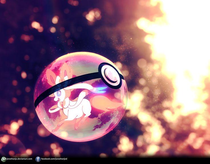 Sylveon Pokeball by Jonathanjo.deviantart.com on @deviantART