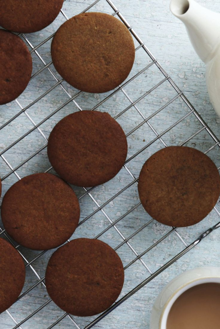 40 best biscuit and cookie recipes images on pinterest bbc recipes ginger nuts were made to dunk get the kettle on forumfinder Choice Image