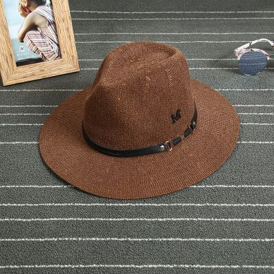 2015 New Style Brand Wool Blend Knit Hat Fedora Cap British Sir Retro Elegant Hat Panama Sun Hats-in Sun Hats from Women's Clothing & Accessories on Aliexpress.com | Alibaba Group