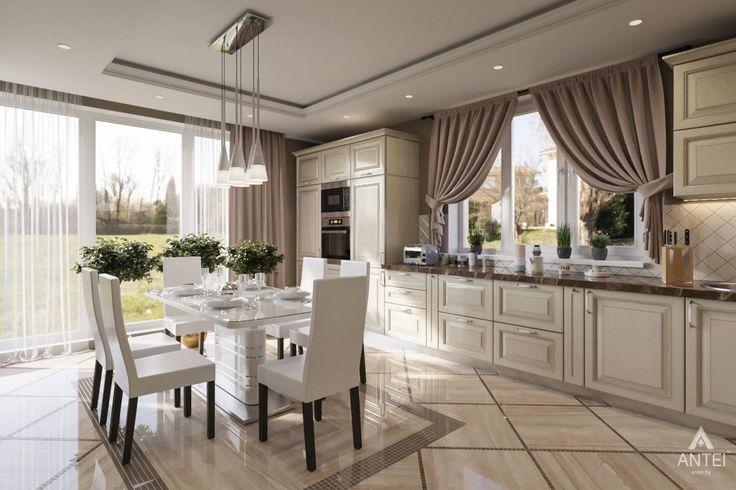 Дизайн частного дома в Москве. Студия дизайна в Гомеле