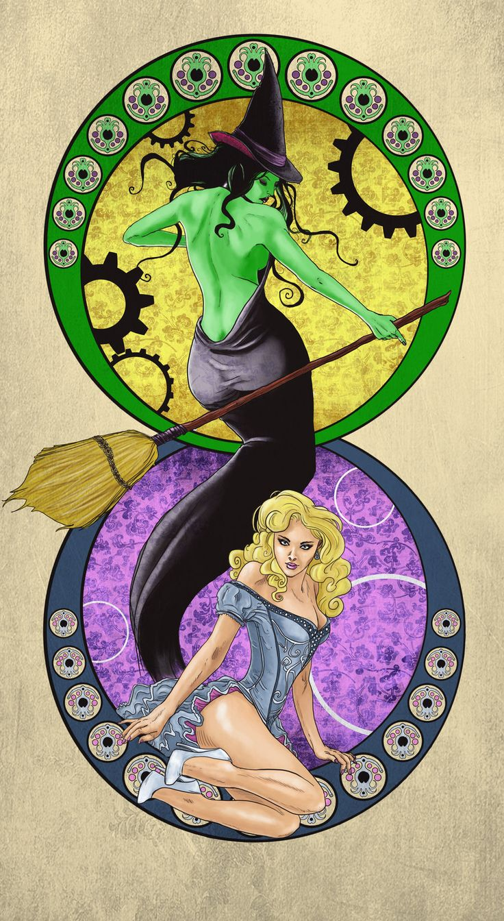 The Witches of Oz by ~odingraphics on deviantART (@Amy!)